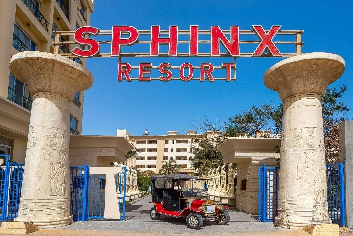 Entrance Sphinx 3